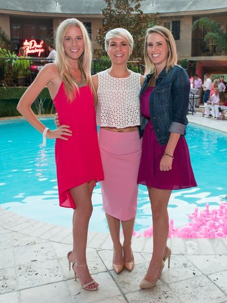 S And Hunks Shake Their Booties At Hotel Zaza Y Pool Party