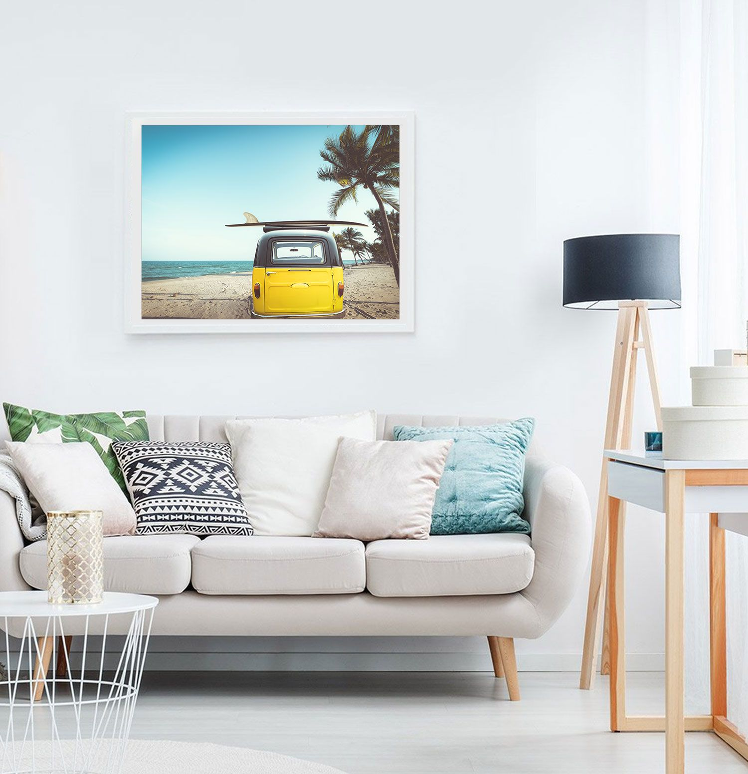 Printable Beach Print Coastal Tropical Wall Art Photography