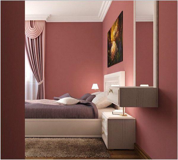 Altrosa Schlafzimmer Decor: Ideen Für Farbkombinationen