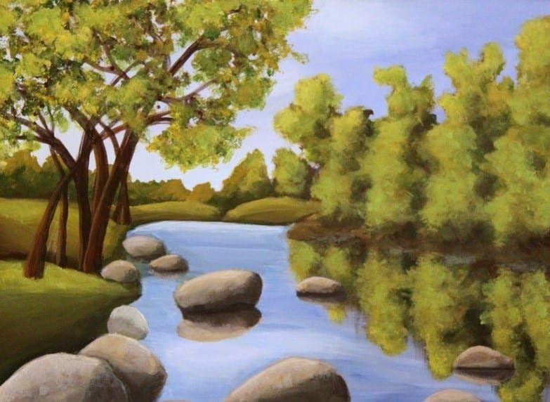 27 Lukisan Pemandangan Basuki Abdullah Download 68 Gambar Pemandangan Naturalisme Keren Gratis Dow Di 2020 Pemandangan Lukisan Pemandangan Kota Pemandangan Abstrak