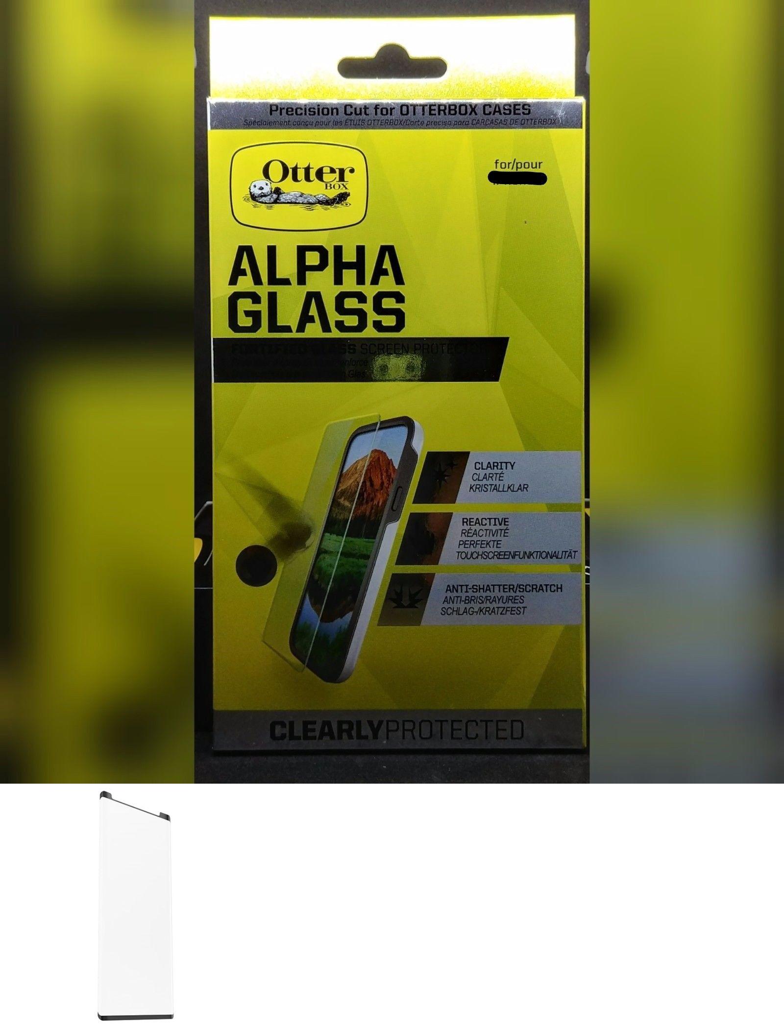 Screen Protectors 58540: Otterbox Alpha Tempered Glass Screen