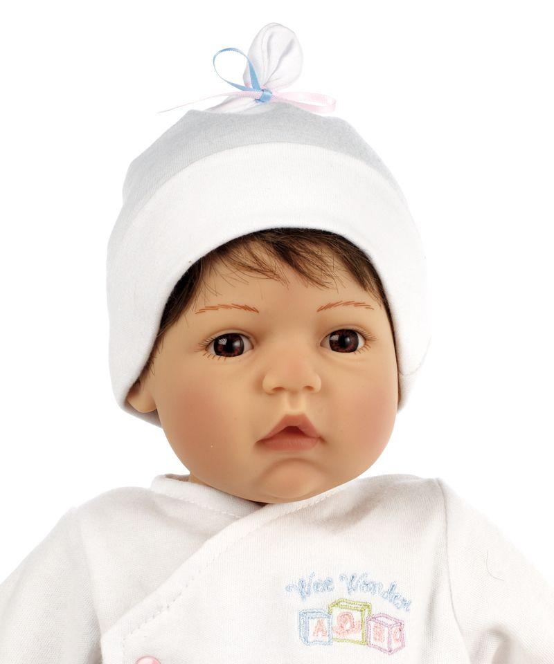 Madame Alexander Newborn Nursery Baby Doll Wee Wonder Tiny Love Light Skin Brown Hair Brown Eye Nursery Ba Baby Dolls Middleton Dolls Real Baby Dolls