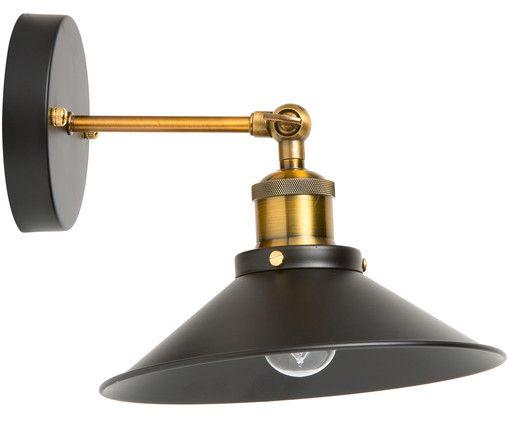 Badezimmer Wandleuchten ~ Wandleuchte nordic schwarzes gold lampe badezimmer und gold