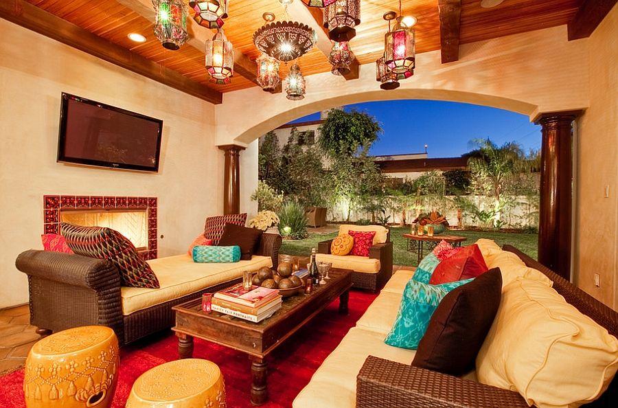 Moroccan Patios Courtyards Ideas Photos Decor And Inspirations Moroccan Living Room Moroccan Home Decor Moroccan Decor Living Room