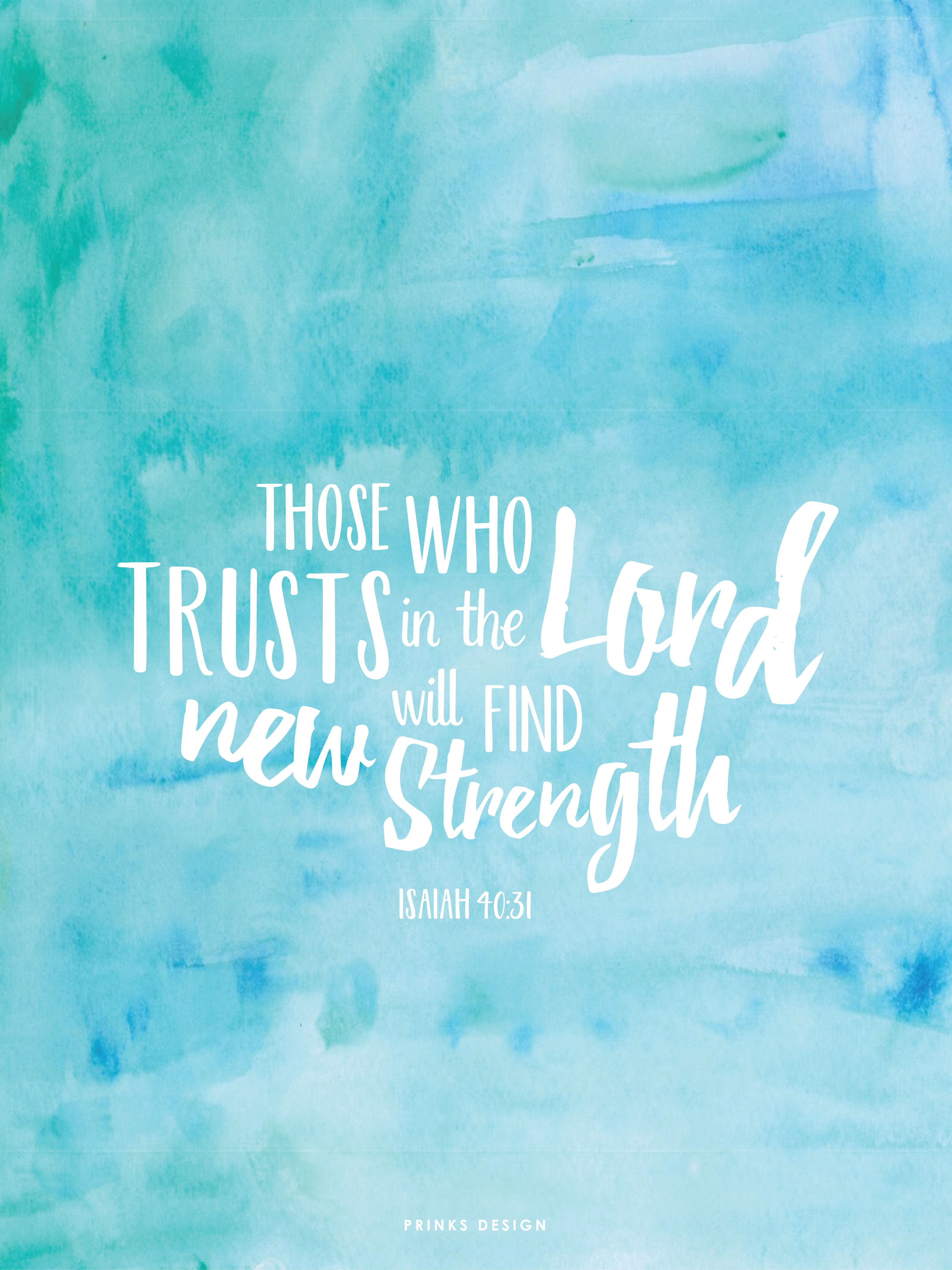 Freebiesfriday bible verse book of isaiah strength freebiesfriday bible verse book of isaiah strength typography watercolour wallpaper voltagebd Choice Image