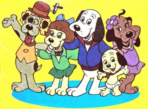 The Pound Puppies From Left To Right Howler Bright Eyes