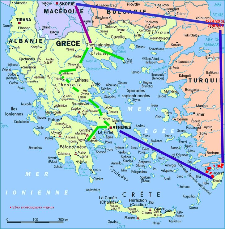 Map Of Greece And Turkey Please Click Here To Read The Journal