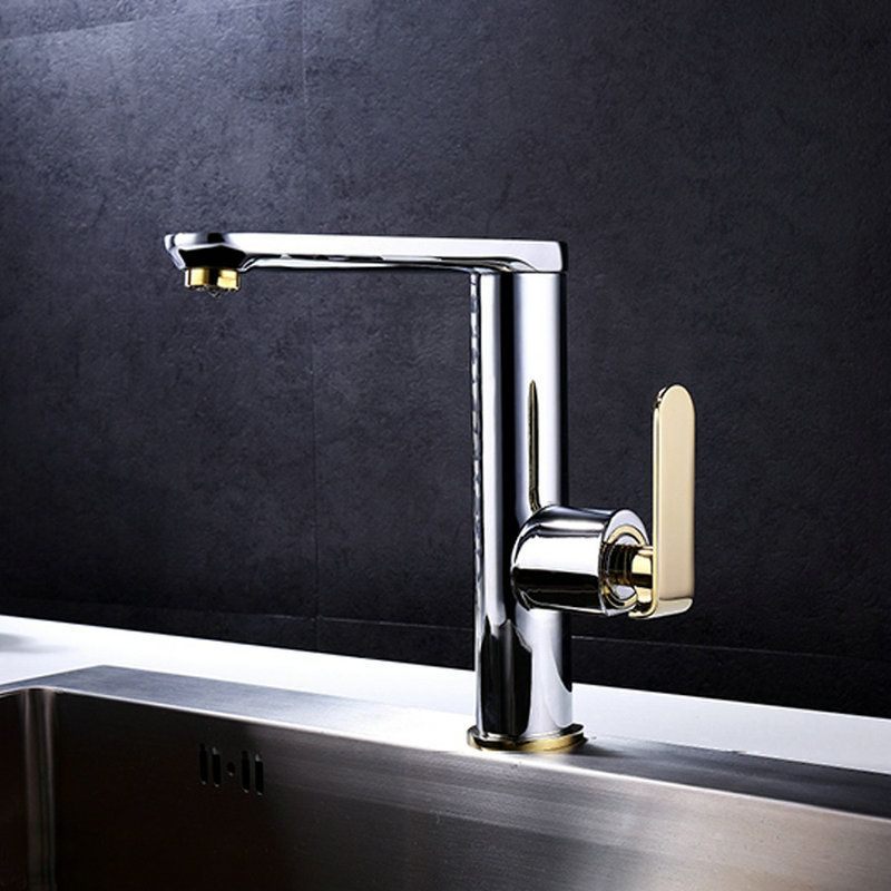 Simple Chrome Kitchen Faucet Modern Kitchen Sink Tap Modern Kitchen Faucet Chrome Kitchen Faucet Modern Kitchen Sinks
