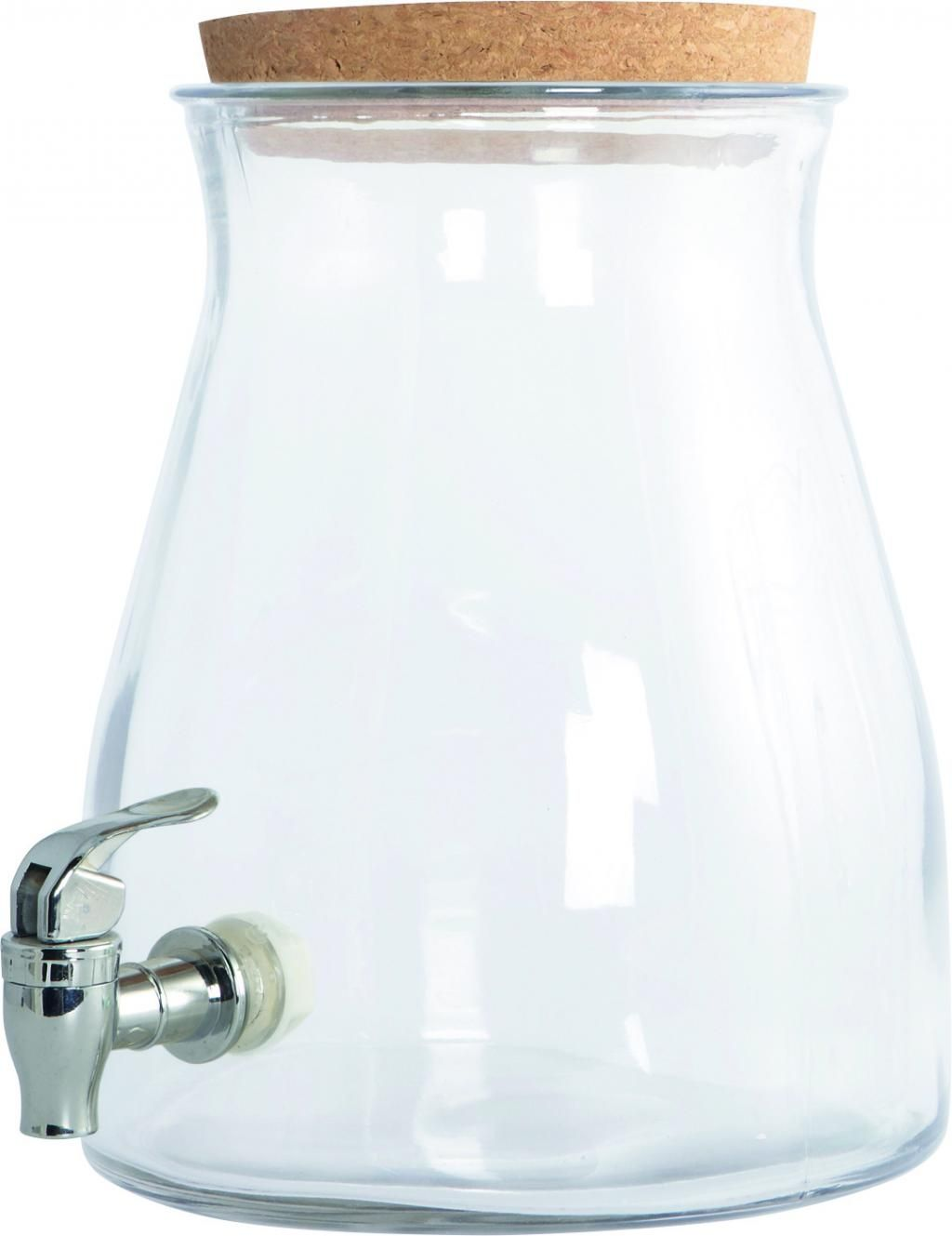 Tiendas Utensilios De Cocina Watertap Lemonade Jar Transparant Glas House Doctor Stuff