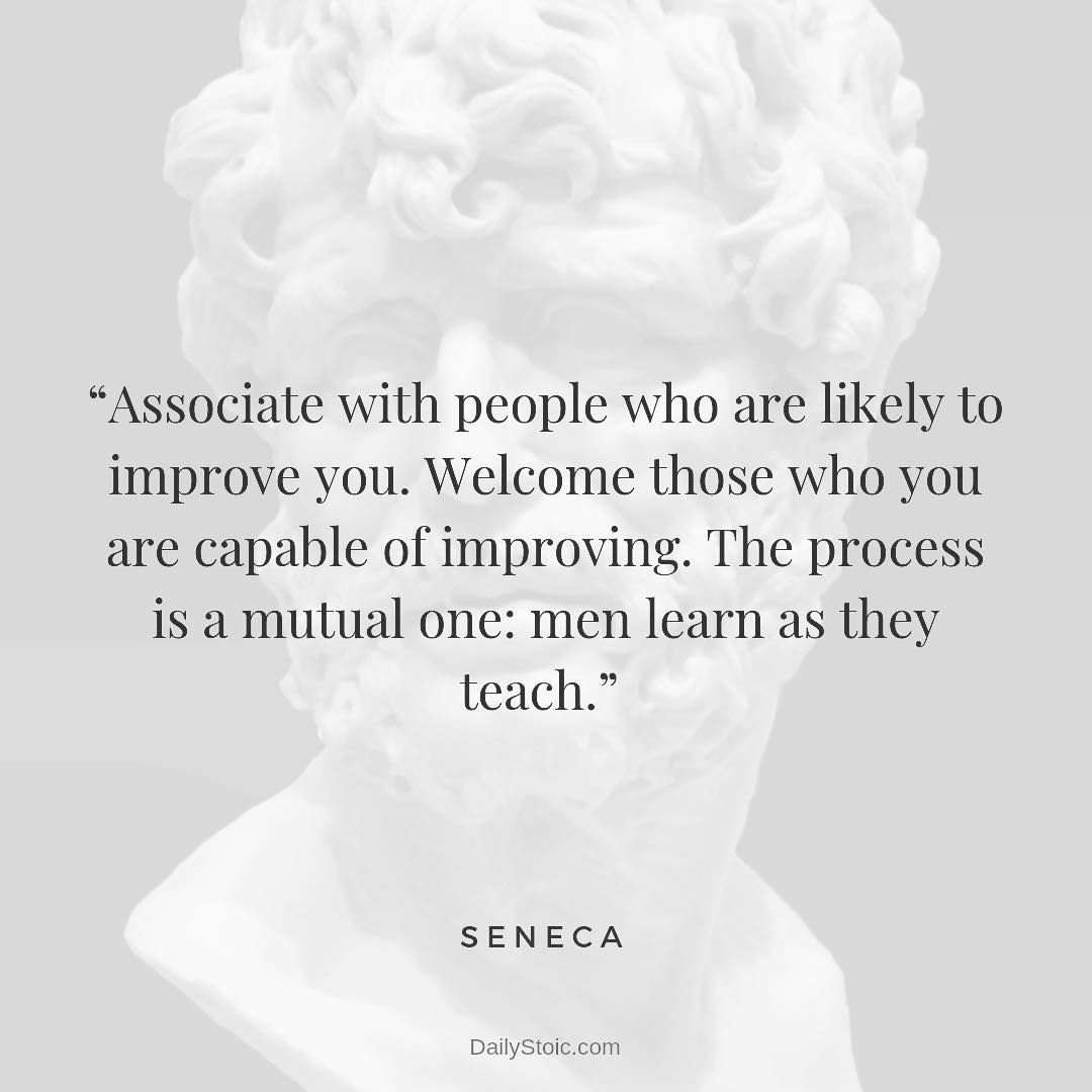 Daily Stoic On Instagram Seneca Letters From A Stoic Insightful Quotes Stoicism Quotes Stoic Quotes