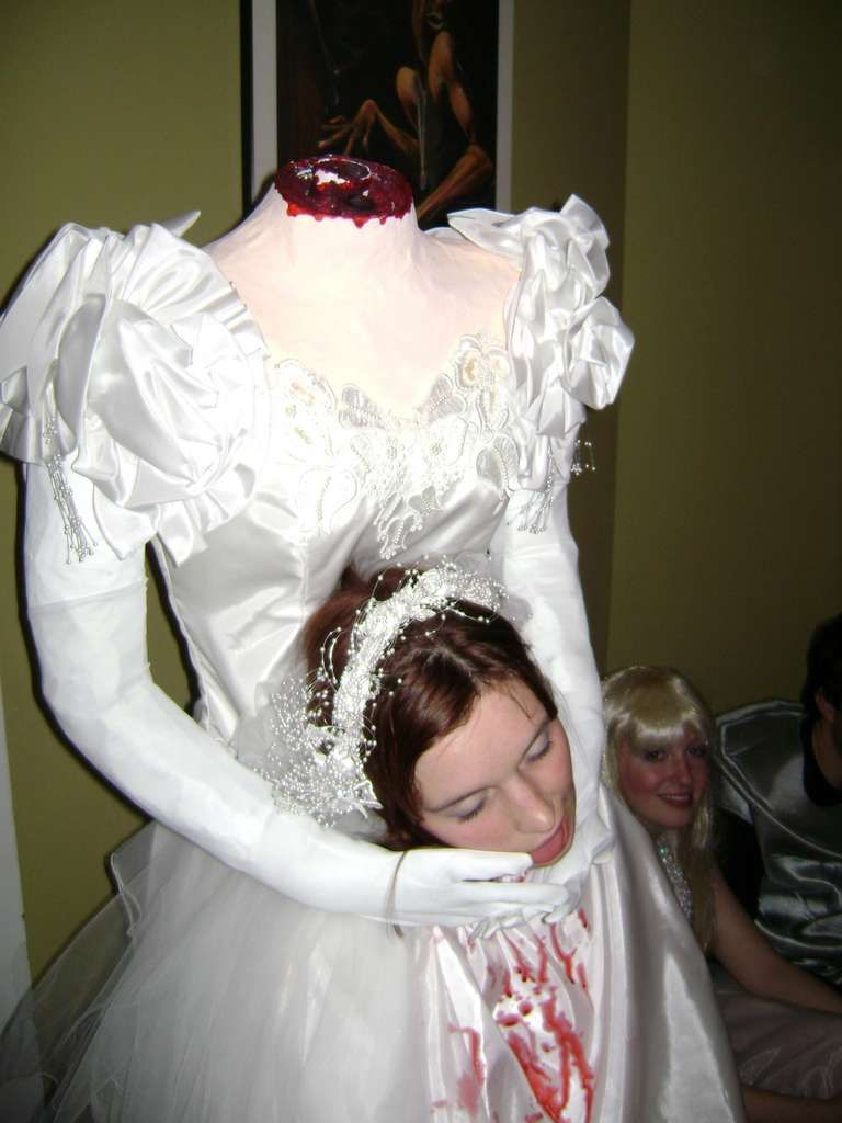 Headless Bride From Duct Tape   Duct tape and Corpse bride