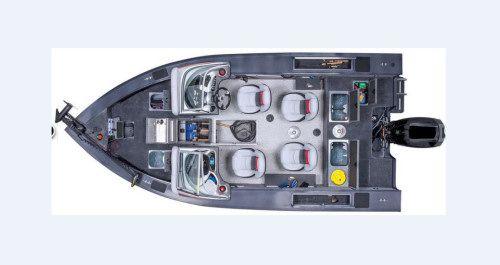 Layout of the Tracker Targa V-18 WT  #NorCalMastercraft