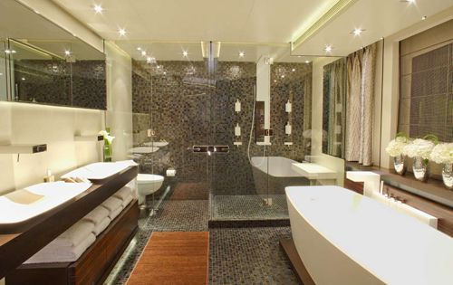 Modern Yacht Master Bathroom Home is Where the Heart is 3