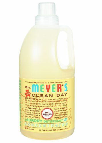 Mrs Meyer S Clean Day 2x He Liquid Laundry Detergent Baby