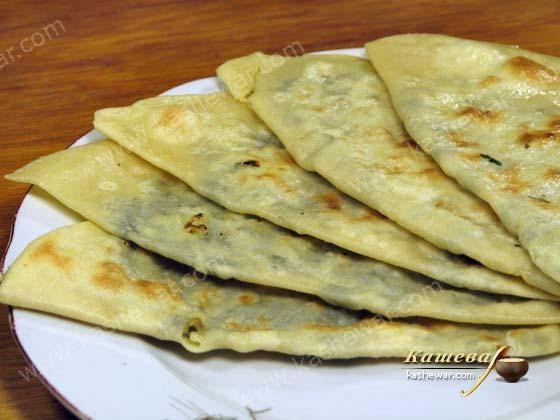Кутаб с сыром рецепт пошагово с фото
