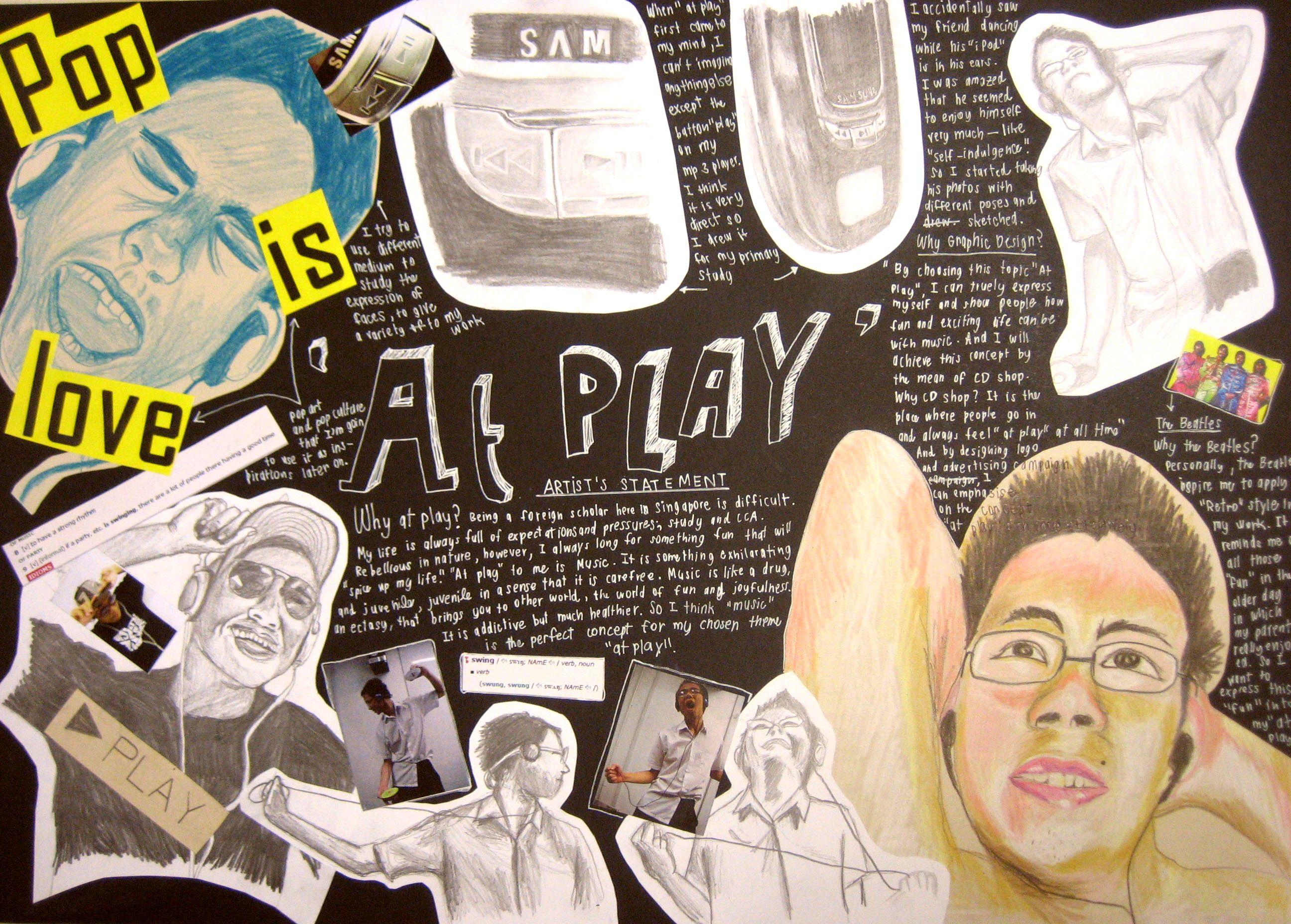 RE draw    O Level Art Edexcel   Pearson