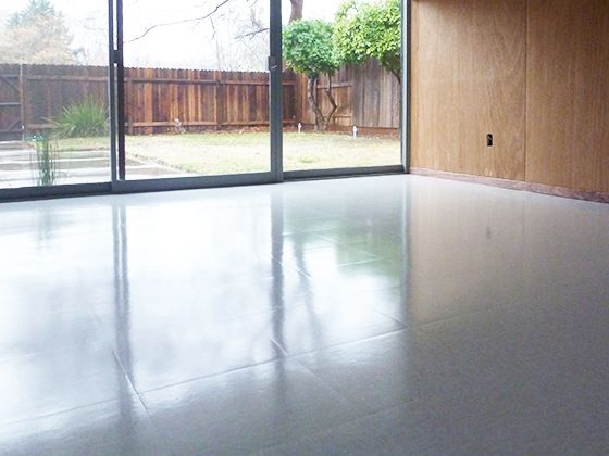 Our First Attempt At Installing Vct Flooring Armstrong Soft Warm Gray