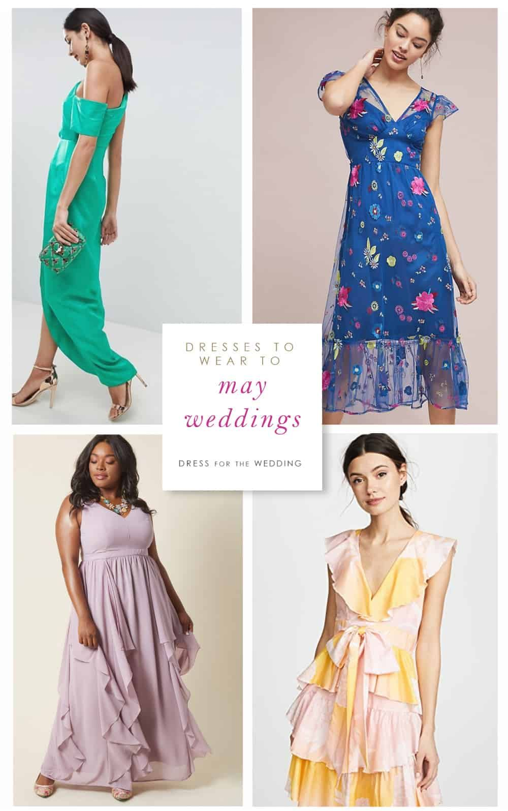 The Best Pring Wedding Outfits Start With These Pretty Dresses To Wear To May 2018 Weddings Cute Wedding Guest Dresses Pretty Dresses Wedding Guest Outfit