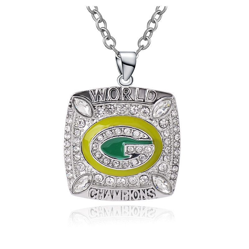 Green Bay Packers Championship Necklace | Green bay ...