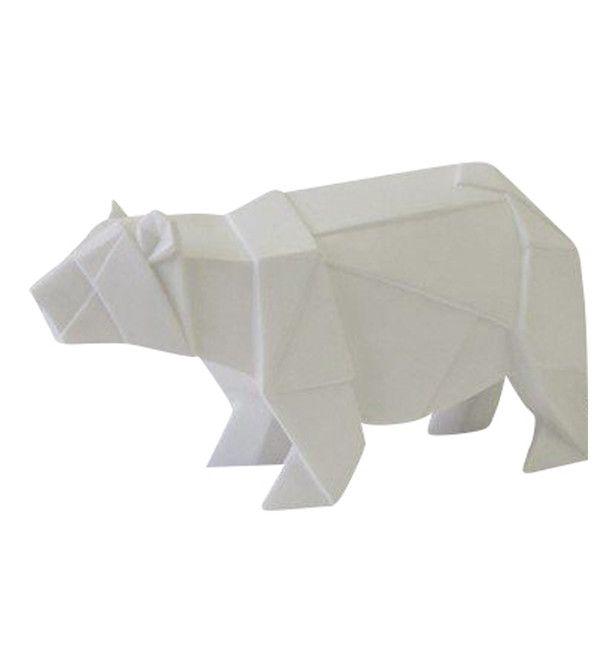 Façon Origami Ours Veilleuse Bébe´ Lampe BlancChambre 4qA35LRj