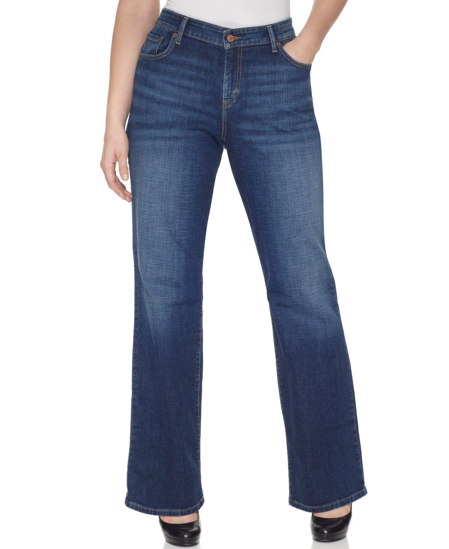 a646c5b7b36de Levi s Plus Size 580 Curvy Defined Waist Bootcut Jeans