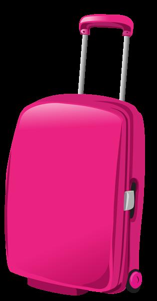 Pink Travel Bag Png Clipart Picture Malas De Viagem Planos De