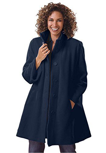 Women's Plus Size Jacket, Swing Style…