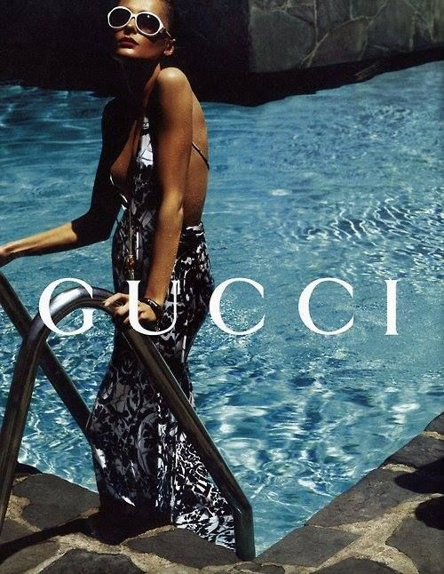 Snejana Onopka by Mert & Marcus for Gucci