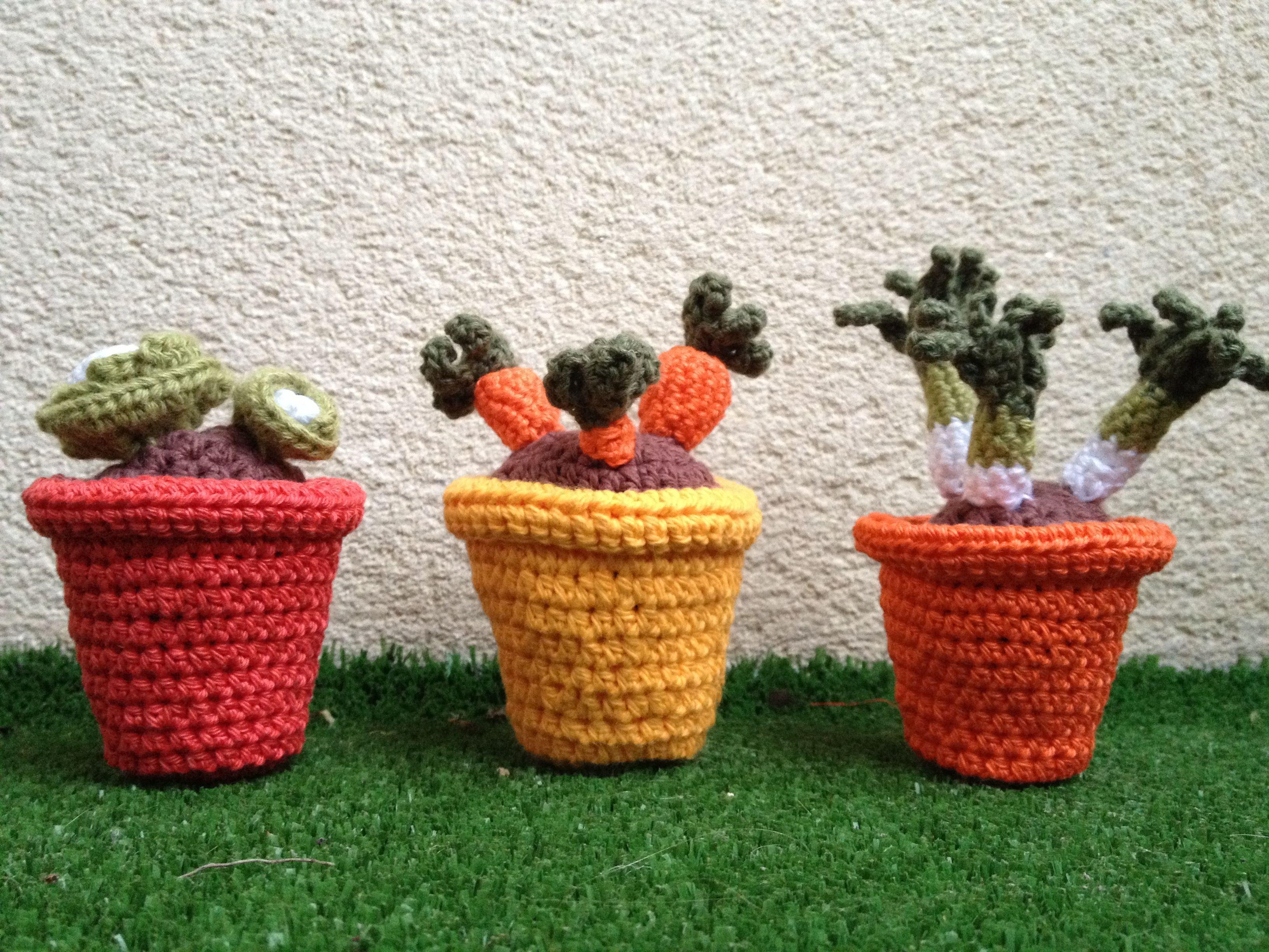 Crocheting Vegetables : Crochet vegetables Crochet Pinterest
