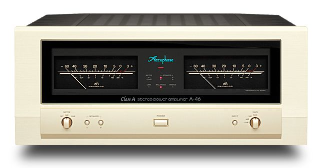 accuphase a 46 class a monophonic power amplifier 45w ch accuphase syst me audio audio. Black Bedroom Furniture Sets. Home Design Ideas