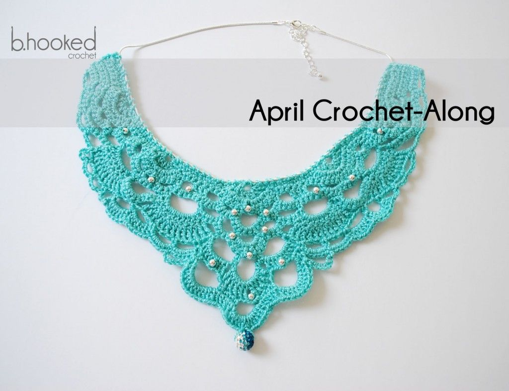 Chandelier Necklace Free Crochet Pattern 365 Crochet Jewelry