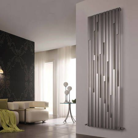 stradivari inox satinato verticale cordivari design heizk rper in edelstahl satiniert gr e. Black Bedroom Furniture Sets. Home Design Ideas