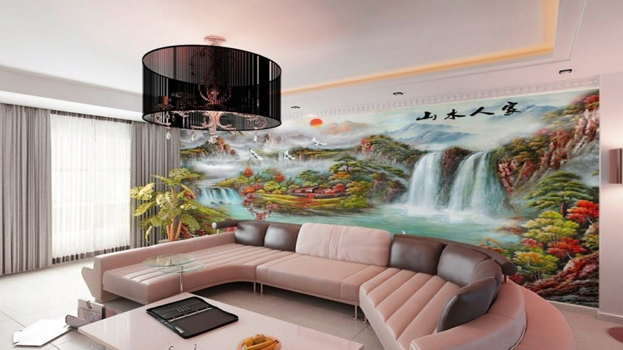 Amazing 3d Custom Mural Wall Bedroom Ideas 3d Wall Art Design Girls Room Decor 49616226 N Design Living Room Wallpaper Wallpaper Living Room Home Wallpaper