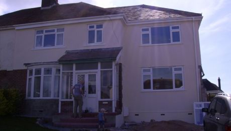 Two Storey Extension Semi Detached House With Hipped Roof Greenwich House House Extensions Semi Detached
