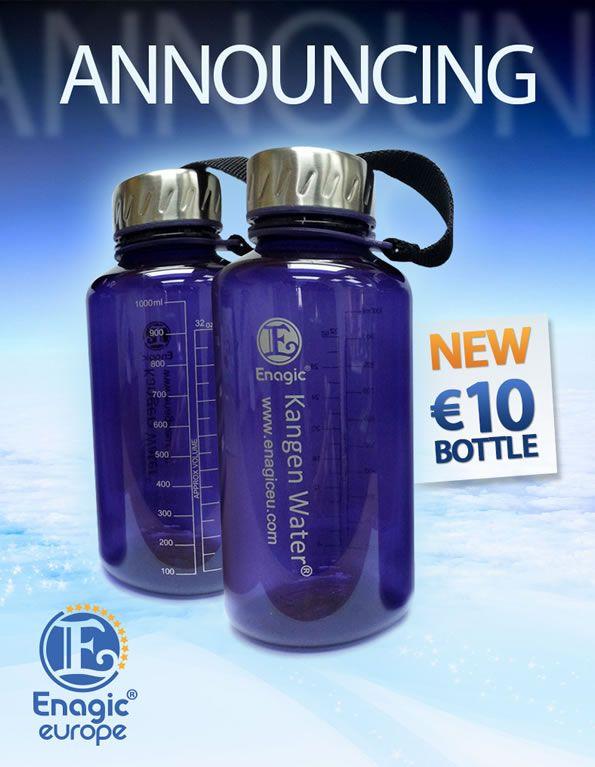 Enagic Eu New Bottle Water Bottle Bottle Reusable Water Bottle