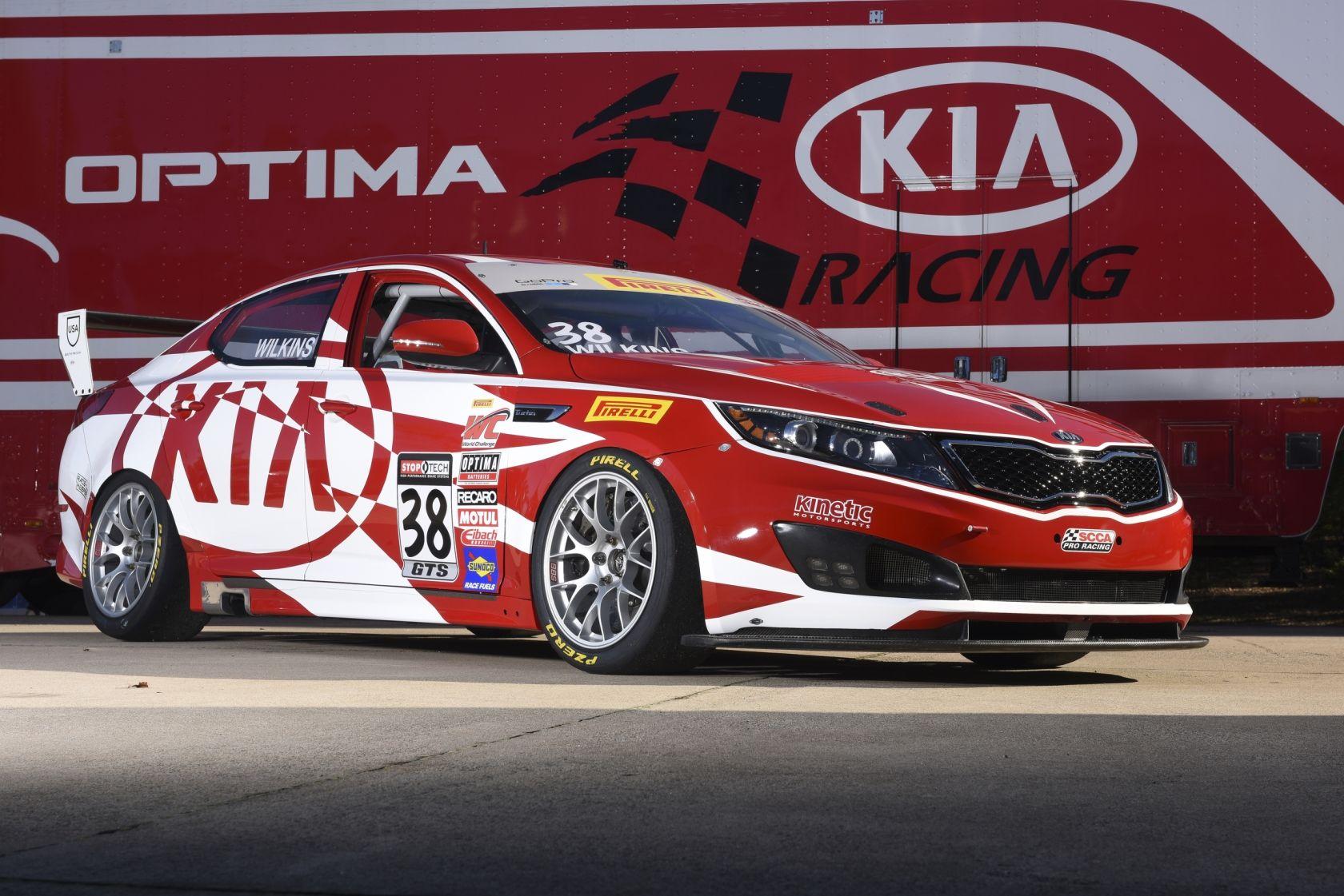 Kia Racing Optima Unveils New Paint Scheme Racing Motorsport Kia Kiaoptima Kiapotimaracing Pirelliworldchallenge Carsgm Racegm Raceglobal