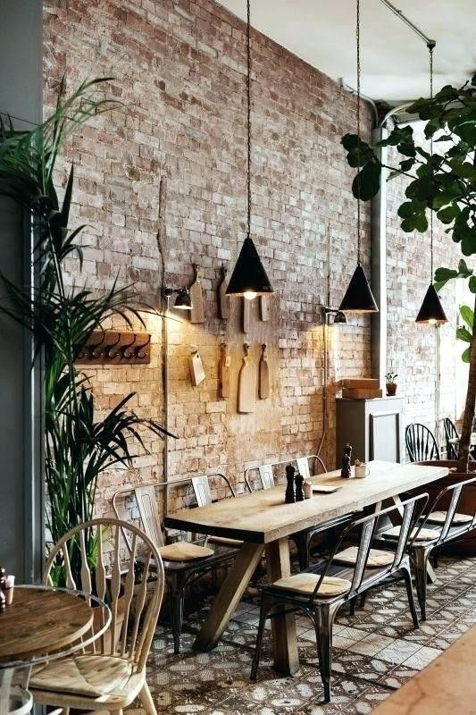 Photo of Wouldn't this make a wonderful dining room in your home? #industrial #kitchen #k…