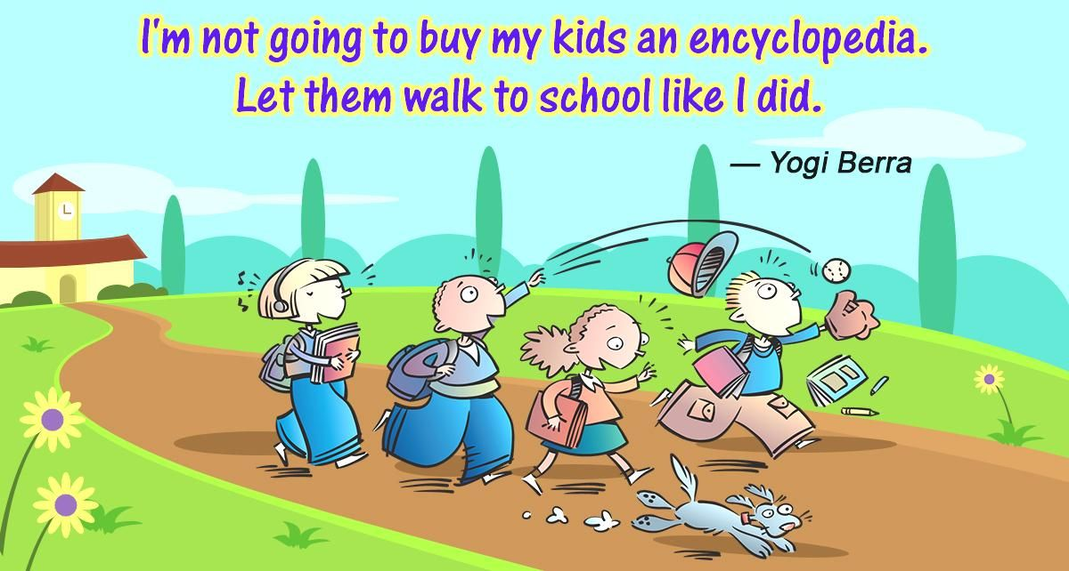 Back to School Quotes [75 Funny, Cute image quotes for