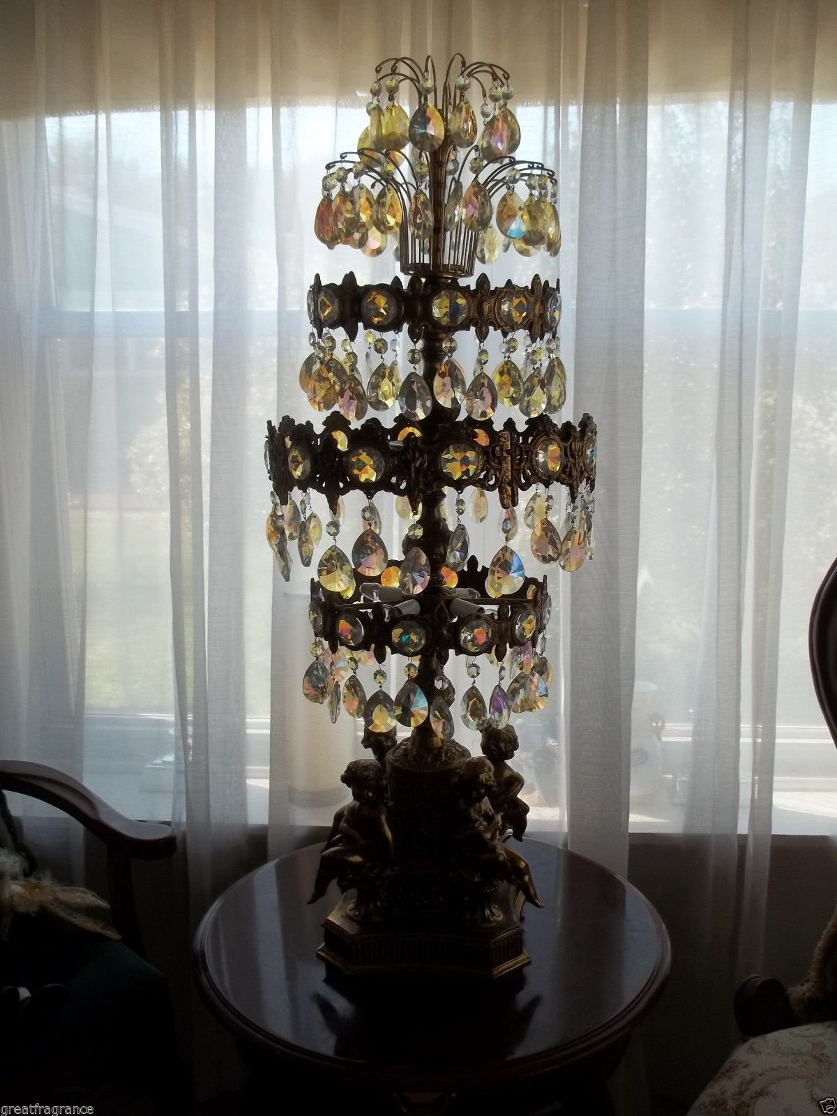 Ll wmcloevsky table lamp prismcrystal lamps chandeliers ll wmcloevsky table lamp prismcrystal geotapseo Images