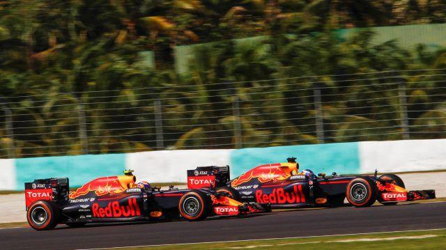 Max Verstappen Sepang Maleisië 02-10-2016.