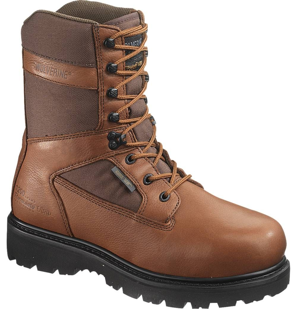 ea5a7afde2b Men's Mammoth Wolverine® Gore-Tex® Insulated Steel-Toe Waterproof 9 ...