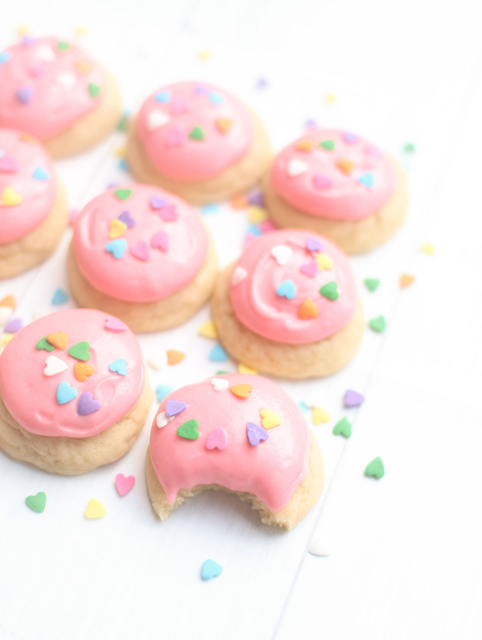 Dairy Free Lofthouse Cookies; a.k.a., Pillowy Soft Frosted
