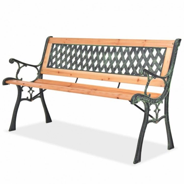 Strange Details About Garden Bench Wooden Patio Chairs Backrest Onthecornerstone Fun Painted Chair Ideas Images Onthecornerstoneorg