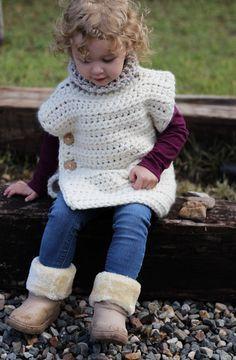The Aspen Poncho - Free Crochet Pattern — Hooked On Tilly