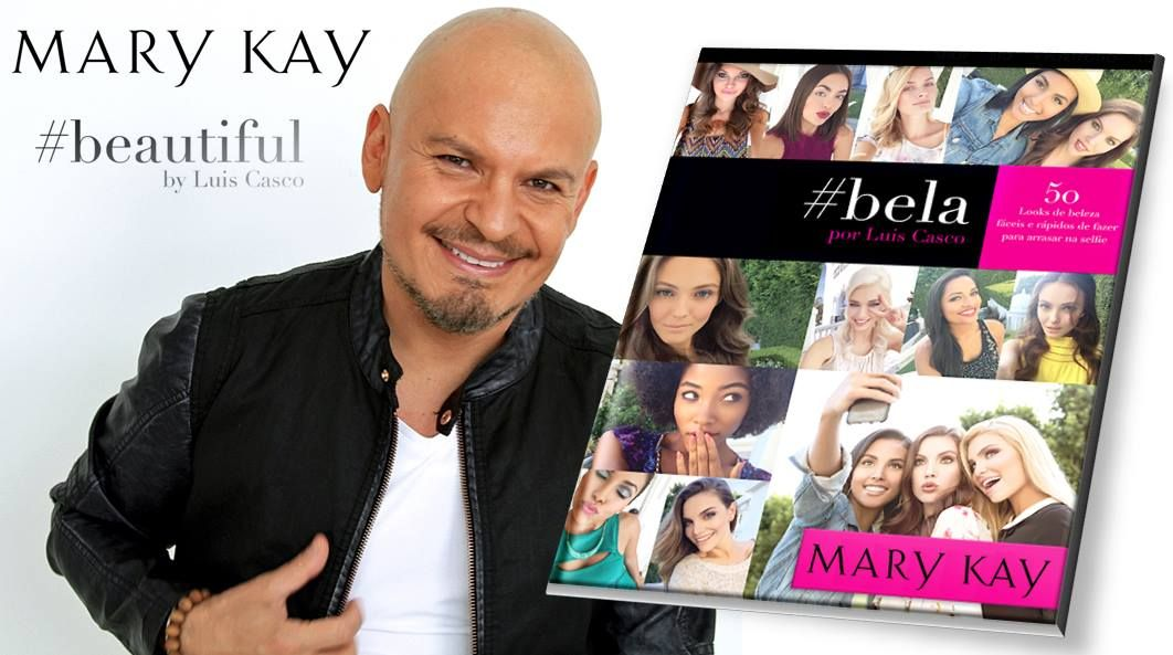 O maquiador oficial da Mary Kay, Luis Casco, acaba de lançar seu livro Beautiful com várias dicas de maquiagens usando os produtos MK.  #consultorasdobrasil #marykay #marykaybrasil #consultoramarykay #amomk #mk