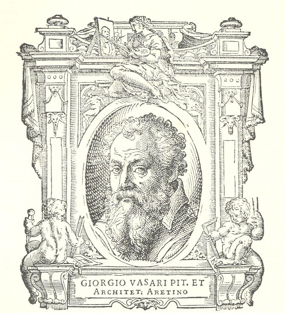 Giorgio Vasari 1511 1574 Autoritratti Frontespizio Pittore