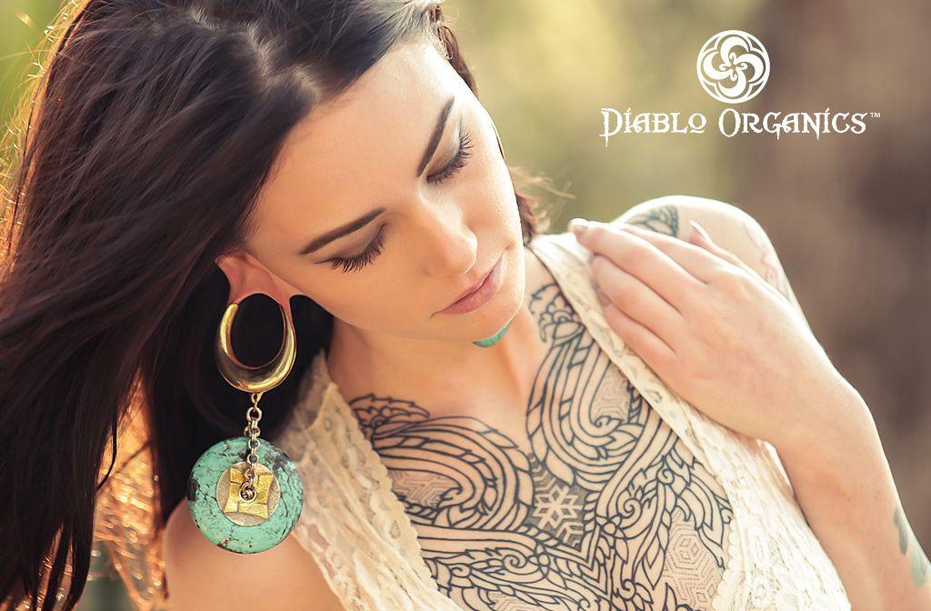Gauge Jewelry Gauge Earrings Heavy Earrings Tribal Jewellery Ear Stretchers Ear Weights,Abalone Shell,Brass Ear Weights Tattoo