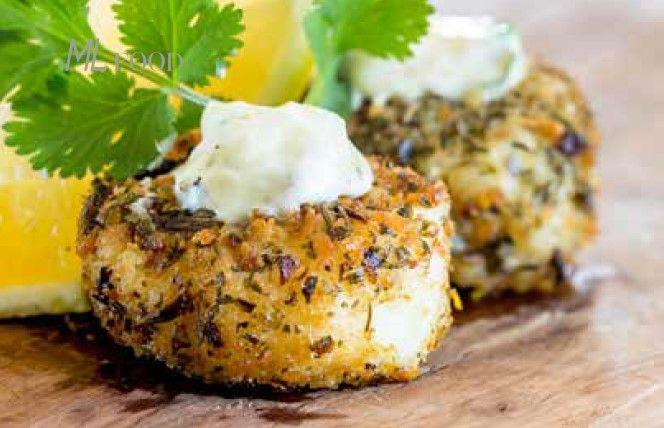 Mini fishcakes with coriander and lime mayonnaise | Miladys Blog