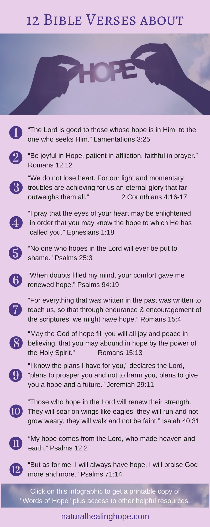 Some days can be hard to get through  These 12 Bible verses