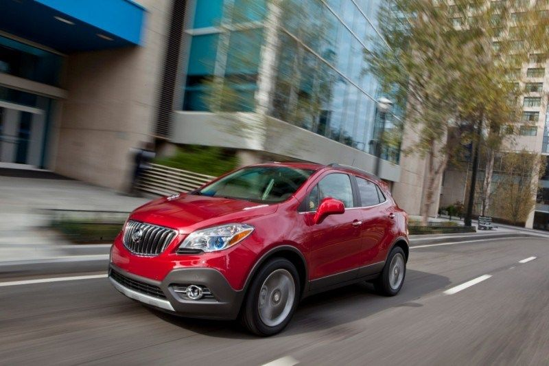 The 2013 Encore luxury small crossover joins all other